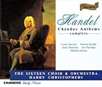 Handel: Chandos Anthems (Complete) (1994-07-26)