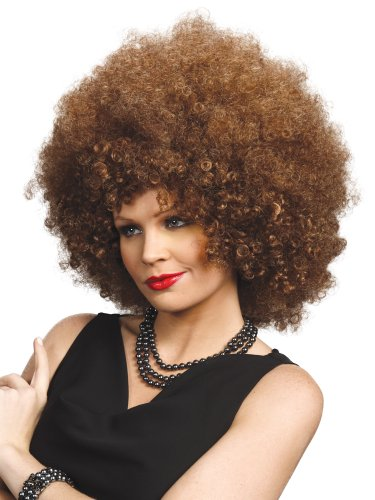 Enigma Wigs Women's Foxy, Mixed Brown, One Size