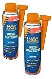 INOX® Diesel Bakterizid, 2 x 250ml - Desinfección de aditivos para Sistemas de gasóleo,...