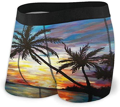 Dachshund Silhouettes Pattern Boxer Briefs Mens Underwear Pack Seamless Comfort Soft