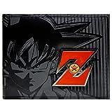 Cartera de Toei Dragonball Z Goku Red Metal Badge Negro