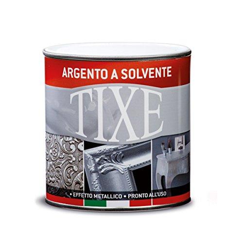 Tixe 103201, Vernice, Cromo/Argento, 125 ml