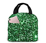 Space Cat - Bolsa de almuerzo portátil aislada, bolsa de almuerzo para trabajo, escuela, viaje, lonchera