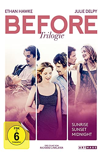 Before Trilogie: Before Sunset / Before Sunrise / Before Midnight [3 DVDs]