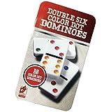 Domino Double - Juego de 6 fichas de dominó
