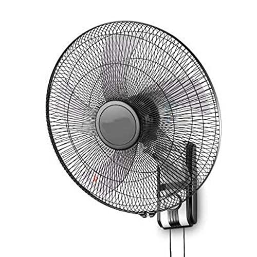 Wgwioo Ventilador Comercial De Nuevo Modelo, Ventilador De Piso Industrial Y Doméstico De Alta Velocidad, Ventilador De Piso Ajustable, Ventilador De Montaje En Pared Oscilante,A,16 Inches