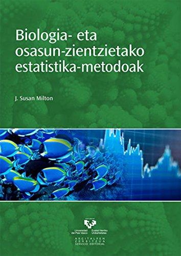 Biologia Eta Osasun Zientzietako Estatistika Metodoak