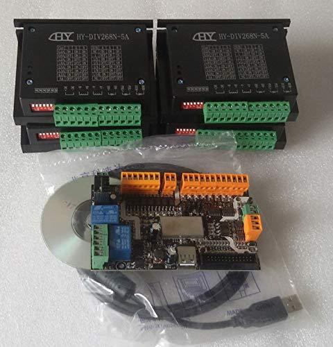 USB-CNC-KIT mit 4 Achsen TB6600 5A, mit usbcnc-Werkslizenz