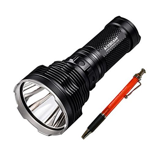 Bundle: Acebeam K70 Flashlight XHP35 HI LED -2600Lm w/Nitecore D4 Charger & 4x NL183 Batteries w/FREE Andrew & Amanda Pen