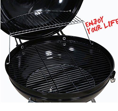 51WA8f2 IOL. SL500  - Lhl BBQ Grill, Outdoor Grill, Holzkohlegrill, tragbarer Klappgrill, 65cm * 61cm * 93cm