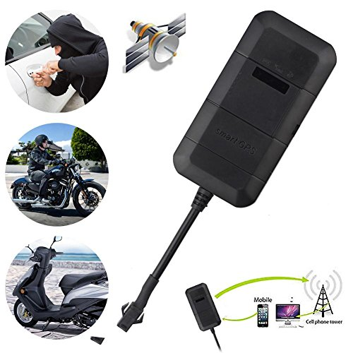 asiproper GPS Fahrzeug Tracker Echtzeit Locator GSM/GPRS Motorrad Car Bike antithef