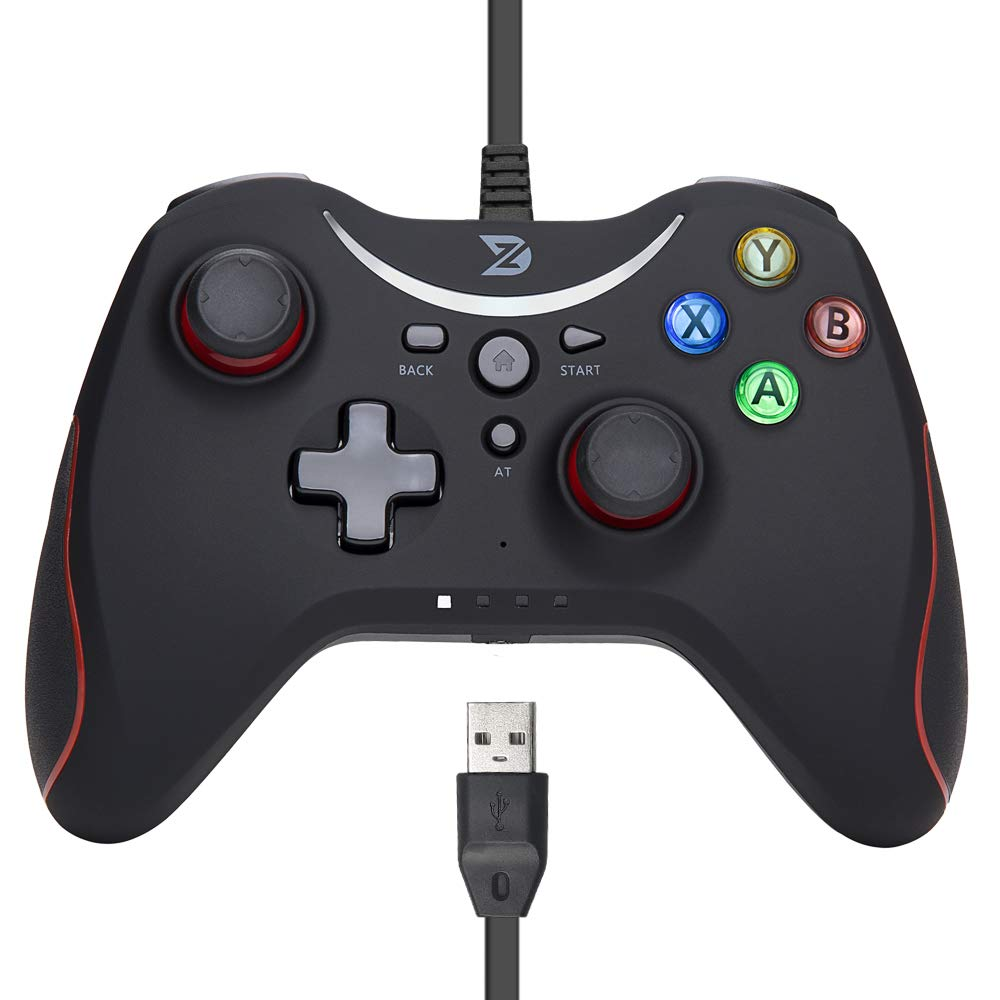 ZD-T Wired Controller for PC Windows ONE Red Max Quality inspection 57% OFF Xbox 10 steam