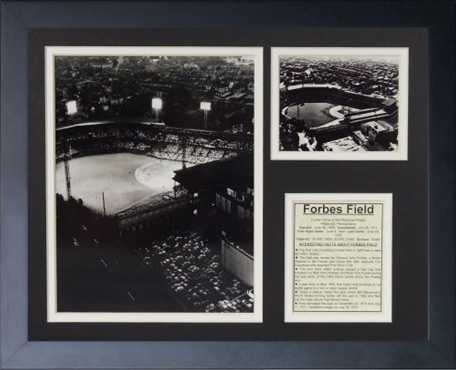 90dc8635a84c Legends Never Die Pittsburgh Pirates Field Framed Photo Collage, x ...