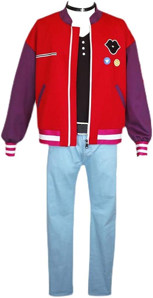Unisex Sacramento Mall 35% OFF Anime Kawai Rika Cosplay Egg Wonder Costume Shirt Jacket