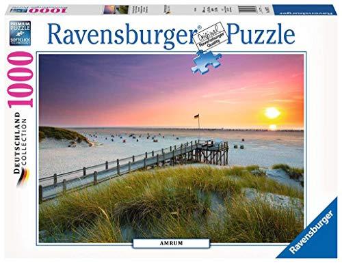 Ravensburger Puzzle 19877 - Sonnenuntergang über Amrum - 1000 Teile