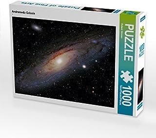 CALVENDO Andromeda galaxi 1 000 delar pussel kvarts