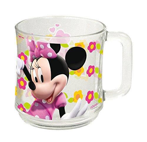 Tasse AUSWAHL Kaffeetasse Tasse Kaffeebecher Becher Glas Micky Maus Minnie Maus Paw Patrol Spiderman (Minnie Maus)