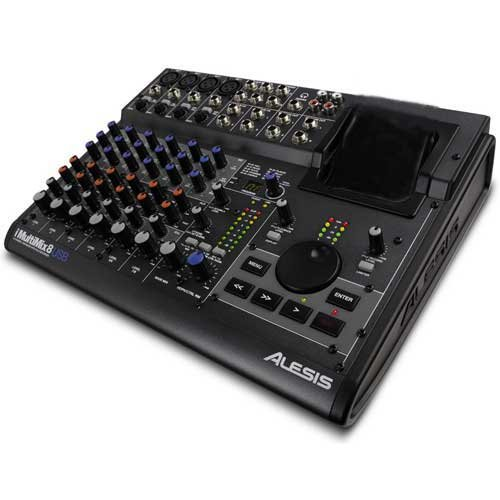 Alesis 1800947 Digital-Audio Interface mit 8-Kanal Mixer IMM 8 USB