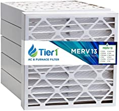 Tier1 24x25x4 Ultimate MERV 13 Air Filter/Furnace Filter Replacement 6 Pack