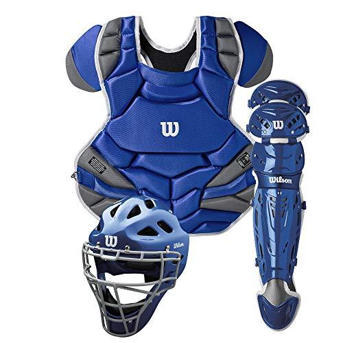 Wilson Sporting Goods Unisex-Erwachsene C1K Catcher's Gear Kit, königsblau, Adult