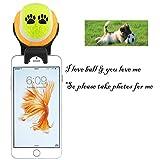 Aditamento de teléfono inteligente palo selfie para mascota - Palo...