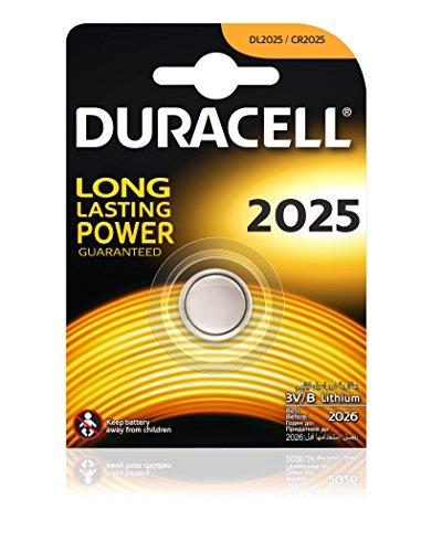 Duracell 2025 3 V Lithium-Batterie.