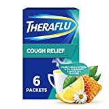 Theraflu Honey Lemon Infused with Chamomile & White Tea Powder for Cough Relief, Honey Lemon Infused w/Chamomile & White Tea, 6 Count