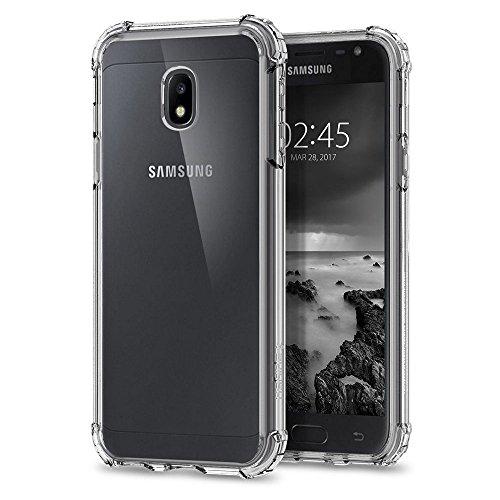 Mb Accesorios Funda Antigolpes Gel Transparente para Samsung Galaxy J5 2017, Ultra Fina 0,33mm, Esquinas Reforzadas, Silicona TPU de Alta Resistencia y Flexibilidad
