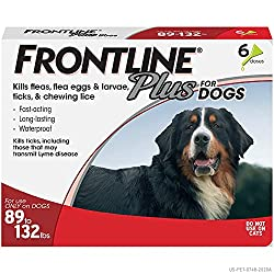 Frontline Plus for dogs 89-132lbs