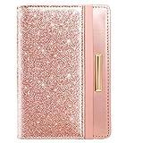 Travel Passport Holder Cover RFID Blocking Cute Slim Passport Wallet for Women