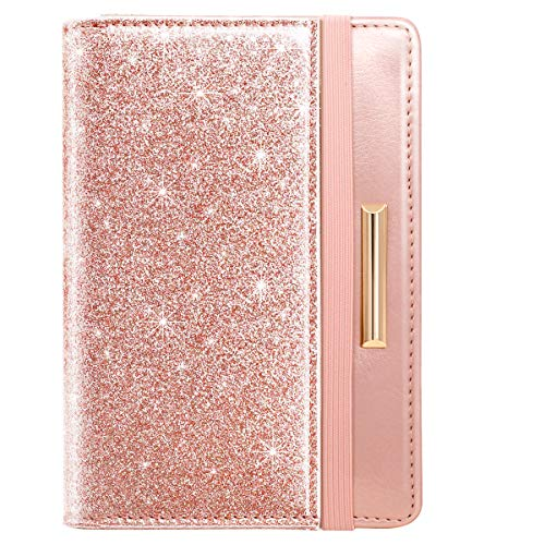 Travel Passport Holder Cover RFID Blocking Cute Slim Passport Wallet for Women