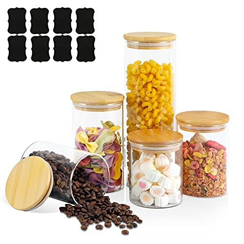 small food jars - 6