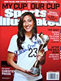 Christen Press USA Women's World Cup autographed Sports Illustrated magazine 7/20/15