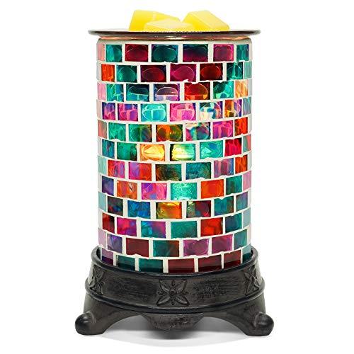 Bobolyn Electric Wax Melt Warmer Candle Waxing Warmer Burner Melt Wax Melter Fragrance Warmer (Cube)