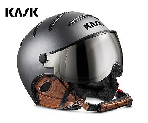 Kask Skihelme Class Matt Anthracite / Brown 58