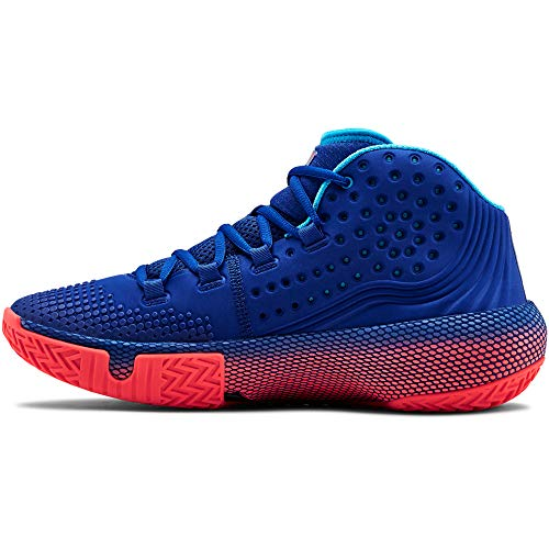 Under Armour UA HOVR Havoc 2, Zapatos de Baloncesto Hombre, Azul (Royal/Capri/Black (400) 400), 43 EU