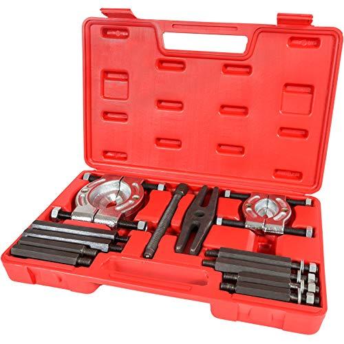 TecTake Kit estrattori 12pz per cuscinetti interni ed esterni avantreno sospensioni