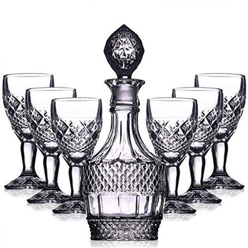 Premium Whiskey Decanter, gratis verfijnd elegant ontworpen om de tand des tijds voor Scotch of Bourbon te behouden, voor huwelijksverjaardag
