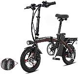 Bicicleta eléctrica Bicicleta eléctrica por la mon Bicicletas eléctricas rápida for adultos Pedales ayuda de la energía y 48V de la batería de iones de litio y aluminio ligero bicicleta eléctrica con