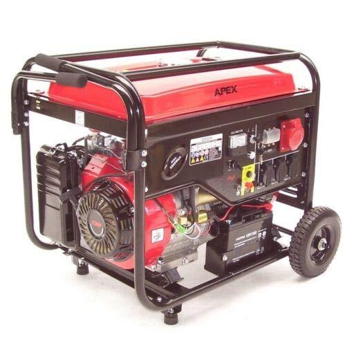 Benzin Stromerzeuger 6500 E-Start 06258 Stromaggregat Generator Notstromaggregat AWZ