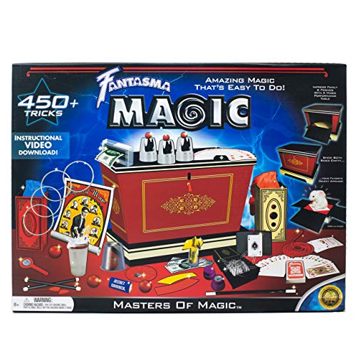 Fantasma Masters of Magic Set - Starter Magic Kit for Kids...