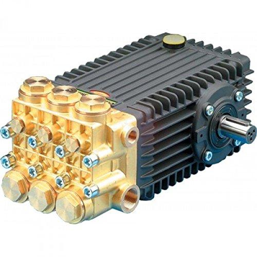 Pump, Triplex, 7GPM@3600PSI, 1450 RPM or 8.5GPM@3600PSI@1750RPM, 24mm Solid Shaft