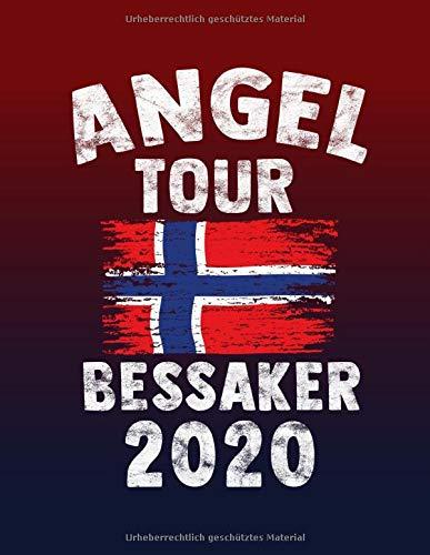 Angeltour Norwegen - Bessaker 2020: DIN A4 Fangbuch auf über 120 Seiten für den perfekten Angelurlaub in Norge. Angel Buch Notizbuch / Logbuch zum Eintragen der Fänge und Fische.