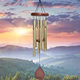 UpBlend Outdoors Medium Wind Chime, Havasu Hand-Tuned (28' Total Length); A Beautiful Gift for Your Patio, Garden, and Outdoor Home décor.