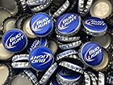 100 ((Bud Light- Old Style) Bottle Caps. NO DENTS. Great for Crafts, Table Tops, and Decor