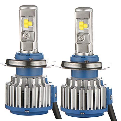 Kit de phares T1 LED H11 6000K, éclairage pour projecteur de lanterne de rechange halogène en aluminium 12 24V 5800ML, lumière blanche