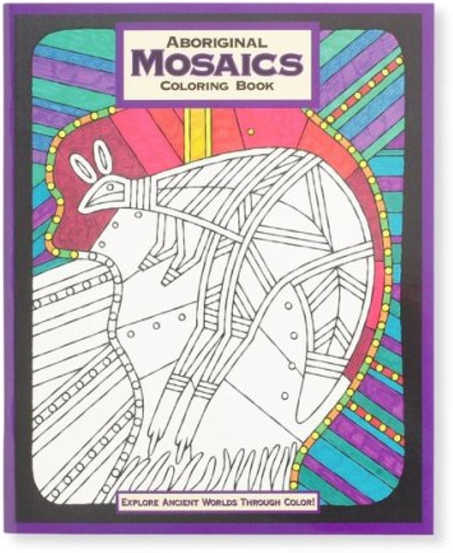 echa un vistazo a los más baratos Aboriginal Mosaics Mosaics Mosaics Colouring Book  alto descuento