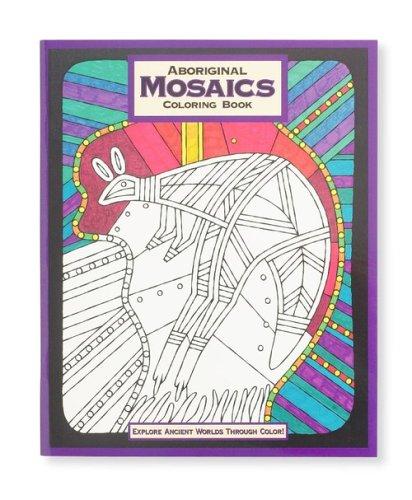Mind Ware Aboriginal Mosaic Coloring Book