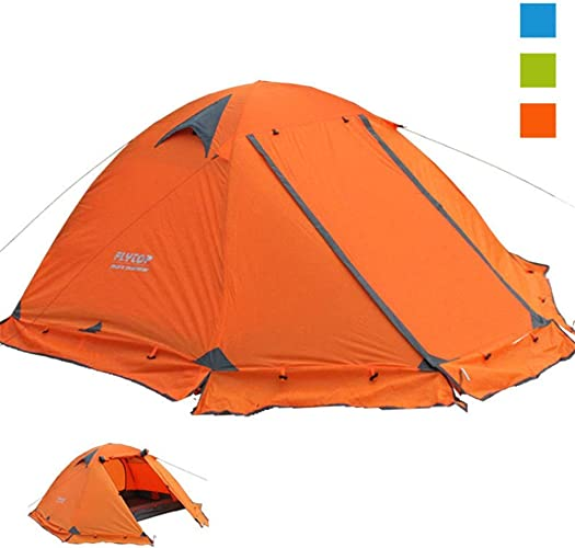 Tentes de Jour en Plein air Tente de Camping en Plein air Tente de Camping Double Double en Aluminium et Prougeection Solaire de Neige Auvent prolongé pour abri Pare-Soleil