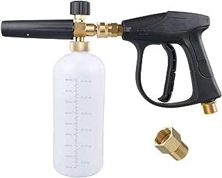 DUSICHIN DUS-023 Foam Cannon Lance Plus Water Spray Gun Wand for Pressure Washer Car Detailing, Not for Garden Hose